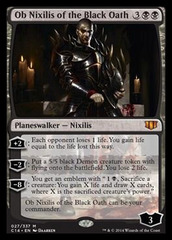 Ob Nixilis of the Black Oath (Oversized) on Channel Fireball