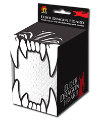 Elder Dragon Hoard Single Deck Box White