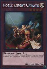 Noble Knight Gawayn - NKRT-EN004 - Platinum Rare - Limited Edition on Channel Fireball