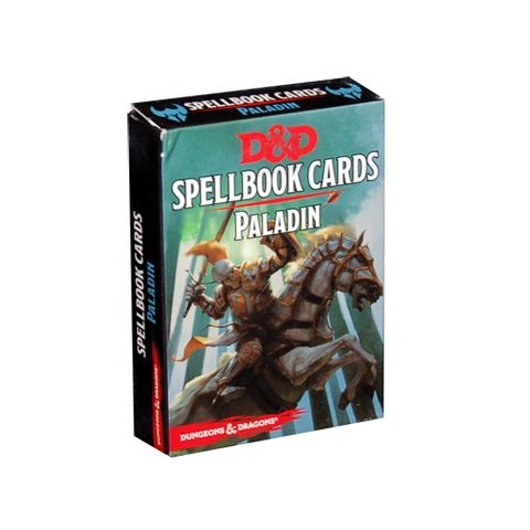 Dungeons and Dragons 5th Edition RPG: Spellbook Cards - Paladin
