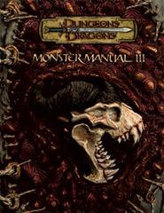 D&D Monster Manual III 3.5 E HC