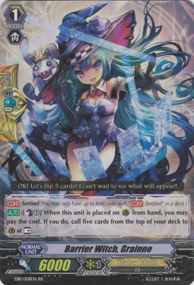 Barrier Witch, Grainne - EB11/008EN - RR