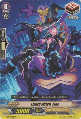 Lizard Witch, Eine - EB11/031EN - C