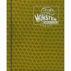 2-Pocket Monster Binder - Holo Gold