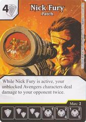Nick Fury - Patch (Die & Card Combo)