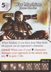 War Machine - James Rhodes (Die & Card Combo)