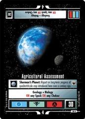 Agricultural Assessment