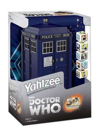 Yahtzee: Doctor Who TARDIS