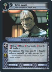 Elim Garak, First Officer of Terok Nor