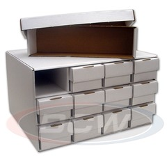 Card House Storage Box with 12 802 ct. Boxes