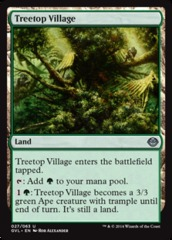 Treetop Village on Channel Fireball
