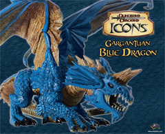 D&D Icons Gargantuan Blue Dragon