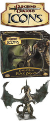 D&D Icons Gargantuan Black Dragon