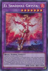 El Shaddoll Grysta - NECH-EN048 - Secret Rare - Unlimited Edition