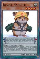 Rescue Hamster - NECH-ENS07 - Super Rare - Limited Edition