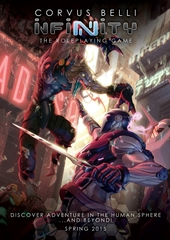 Infinity RPG: Core Rules Hardcover