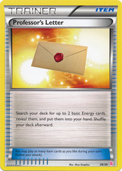 Professor's Letter - 28/30 - XY Trainer Kit (Sylveon)