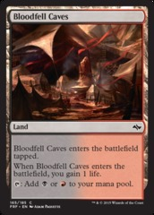 Bloodfell Caves - Foil (FRF)