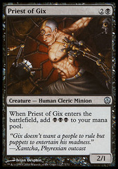 Priest of Gix on Channel Fireball