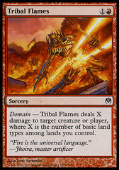 Tribal Flames on Channel Fireball