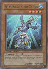 Elemental Hero Ocean - JUMP-EN013 - Ultra Rare - Promo Edition