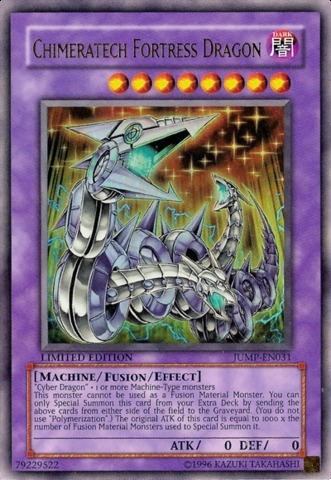 Chimeratech Fortress Dragon - JUMP-EN031 - Ultra Rare - Promo Edition