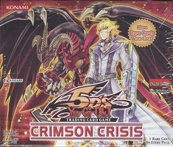 Crimson Crisis 1st Edition Booster Box