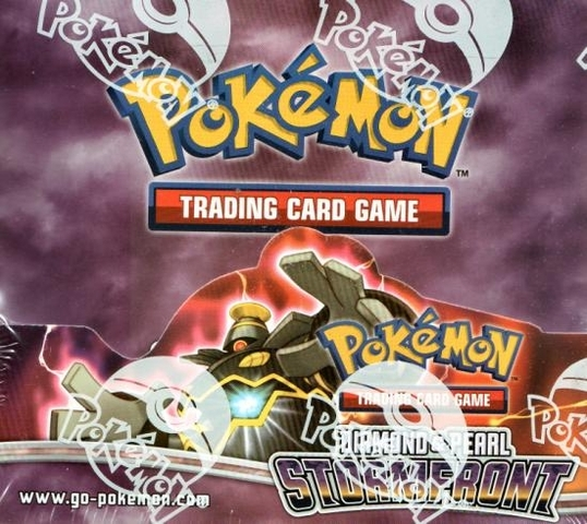 Diamond And Pearl: Stormfront Booster Box