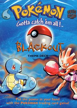 Blackout Base Set Theme Deck