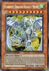 Stardust Dragon/Assault Mode - DPCT-EN003 - Ultra Rare - Limited Edition on Channel Fireball