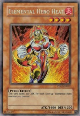 Elemental Hero Heat - Secret Rare - PP02-EN007 - Secret Rare - Unlimited
