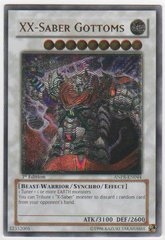 XX-Saber Gottoms - Ultimate - ANPR-EN044 - Ultimate Rare - 1st