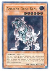 Ancient Gear Beast - Ultimate - TLM-EN007 - Ultimate Rare - 1st Edition