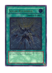Solar Recharge - LODT-EN052 - Ultimate Rare - 1st Edition