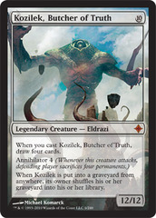 Kozilek, Butcher of Truth on Channel Fireball