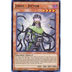 Jinzo - Jector - SECE-EN031 - Super Rare - 1st Edition