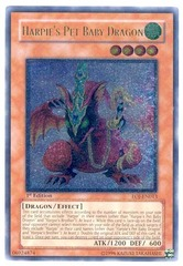 Harpie's Pet Baby Dragon - EOJ-EN013 - Ultimate Rare - 1st Edition