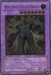 Multiple Piece Golem - TDGS-EN038 - Ultimate Rare - 1st Edition