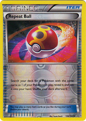 Repeat Ball - 136/160 - Uncommon - Reverse Holo