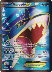 Sharpedo-EX - 152/160 - Full Art