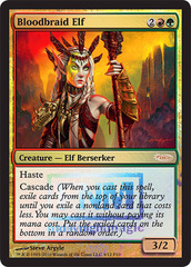 Bloodbraid Elf - (FNM Foil 2010)