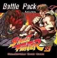 Street Fighter Akuma vs Ryu Battle Pack Box