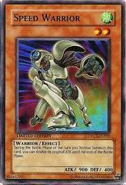 Speed Warrior - DPCT-ENY05 - Super Rare - Limited Edition