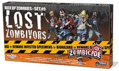 Zombicide Box of Zombies Set #9: Lost Zombivors