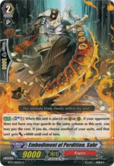 Embodiment of Perdition, Sahr - BT17/062EN - C