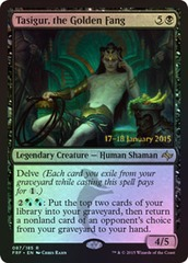 Tasigur, the Golden Fang - Foil - Prerelease Promo