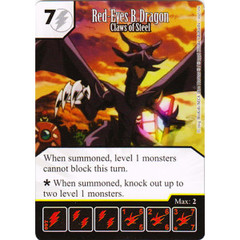 Red-Eyes B. Dragon - Claws of Steel (Die & Card Combo)