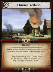 Burned Village