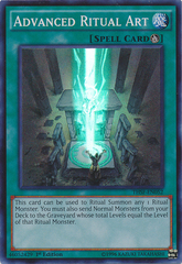 Advanced Ritual Art - THSF-EN052 - Super Rare - 1st Edition