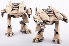 Dropzone Commander - PHR Menchit Battle Walkers (2)